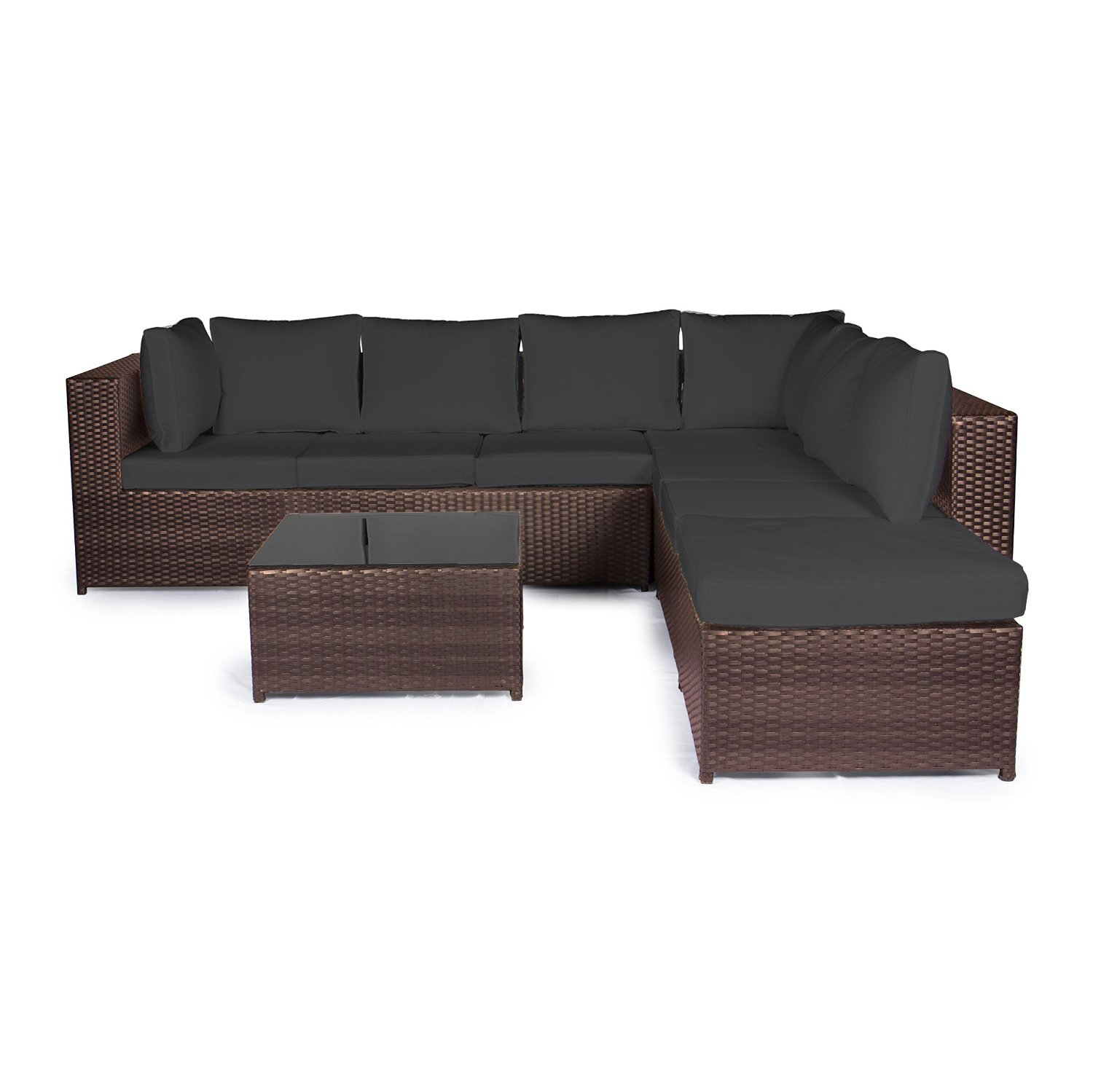 Rattan sofa test top 5 testsieger neu for Balkonmobel rattan lounge